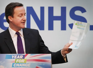 """I have in my hand a piece of paper... setting out how to dismantle the NHS"""
