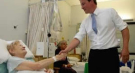 David Cameron claims to be a friend to the NHS but his policy is both naive and sinister