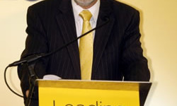 David Ford, leader of the Alliance Party in Northern Ireland
