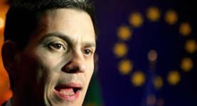 David Miliband in Europe