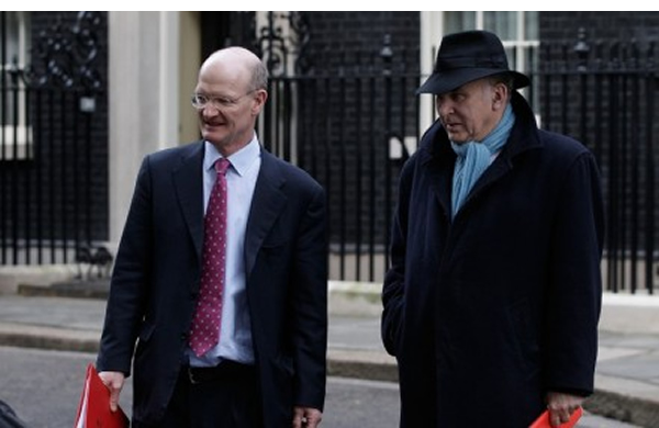 Losing sleep? David Willetts and Vince Cable