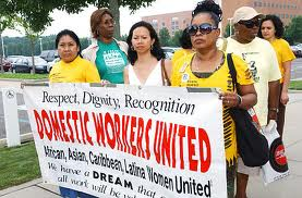 Fighting for their rights: Domestic workers are exploited all over the world