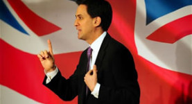 Ed Miliband, speaking at the 2012 Labour Party Conference in Manchester today