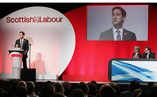 Mili of the Glen: The Labour leader will make the case for the Union today