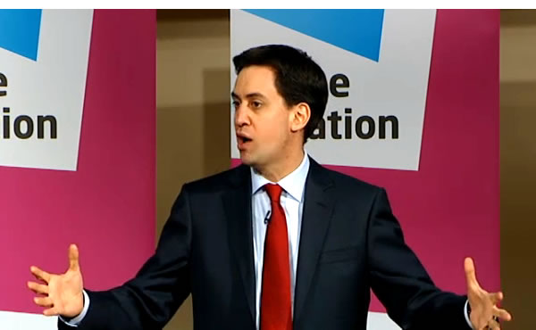 Ed Miliband delivers his integration speech today