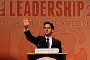 Leading from the front: Ed Miliband