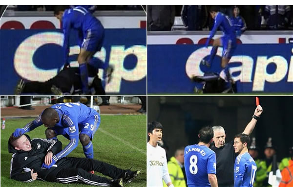 The Eden Hazard/ballboy incident