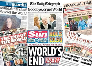 End of the World: The News of the World will be no more