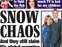 Mad: Another insane Express front page