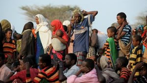 Facing disaster: The food crisis in the Horn of Africa could leave up to ten million facing famine