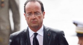Francois Hollande, four months in and sliding down the polls