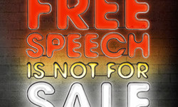 Free speech is not for sale: The libel reform campaign motto