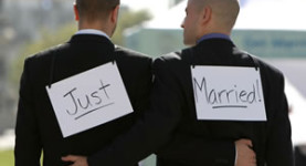 Gay marriage should be legalised - it