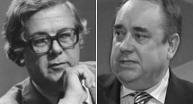 Two angry men: Lord Howe and Mr Salmond