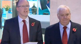 Glum and glummer: George Entwistle and Chris Patten