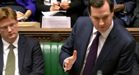 George Osborne delivers the 2012 Autumn Statement