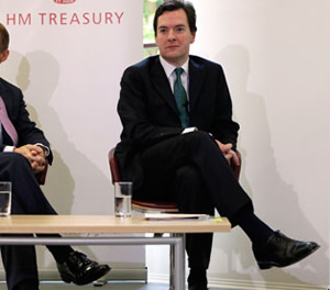 George Osborne at the launch of the Office of Budget Responsibility