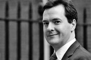Not a popular man: The IMF have serious question marks over Gideon Osborne's deficit reduction plans