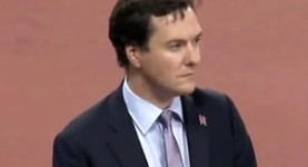 George Osborne: The chancellor was booed at the Paralympics on Monday