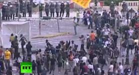 The Greek eurozone riots: You