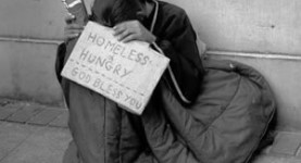 Homelessness in London: Our national shame