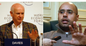 The greedy and the ghastly: Howard Davies and the vile Saif Gaddafi