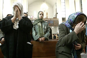 Praying: Iranian Christians