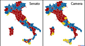 Divided: The maps of the 2013 Senate and Chamber of Deputies