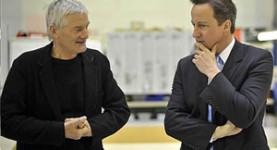 James Dyson and David Cameron