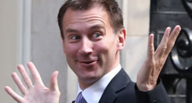 Jeremy Hunt, the new health secretary