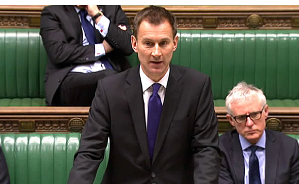 Jeremy Hunt announces the Lewisham Hospital decision