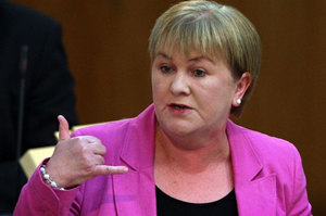 Johann Lamont, the leader of Scottish Labour