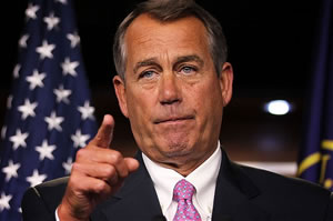 Boehner: Faced a stiff battle for re-election, but emerged hardened by the experience