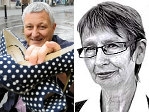Quitters: John Finnie and Jean Urquhart