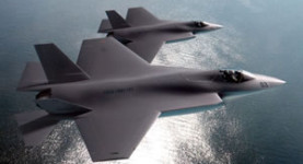 Top guns: Joint Strike Fighter jets in action