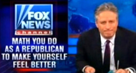 Jon Stewart rips Fox News