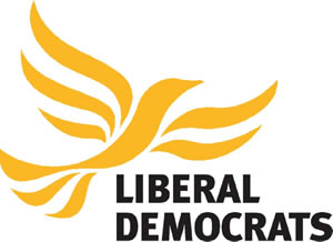 Floating: The Liberal Democrat logo
