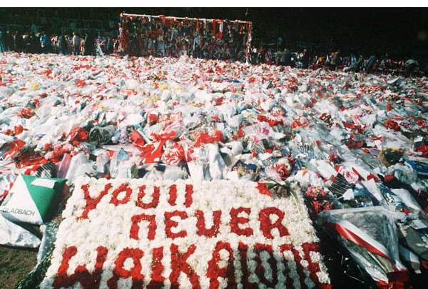 Never forgotten: Liverpool fans remember the Hillsborough tragedy