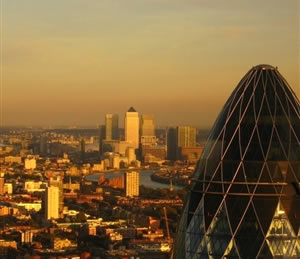 The London skyline: There are major problems of housing in London