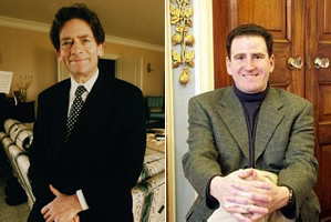 Evasive: Lord Lawson and the dubious Benny Peiser have refused to divulge details of their funding