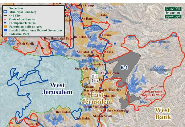 Map 1: E1