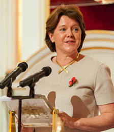 Maria Miller, the Secretary of State for Culture, Media and Sport