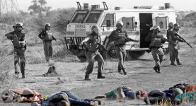 The Marikana massacre