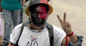 Fighting for their rights: Mexican protesters