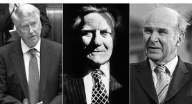 Michael Fallon, Michael Heseltine and Vince-Cable