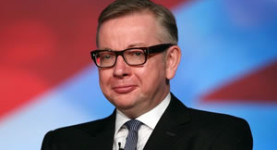 Michael Gove: A man who is clearly well fed