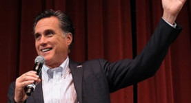 Romney: Knee deep in Santorum