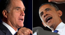 Mitt Romney and Barack Obama face each other in the final Presidential election debate tonight