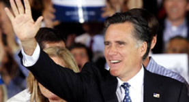 Mr Florida: Mitt Romney all but sealed the Republican Presidential nomination this week