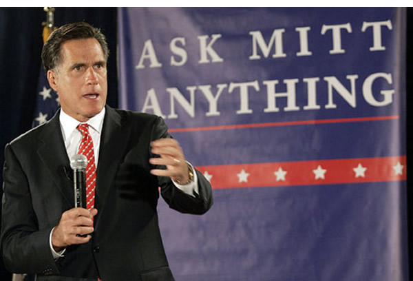 We've got a question for you Mitt, about your tax affairs, ya weirdo